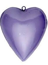 hjärta i plåt pastellfärgade shabby chic lantlig stil