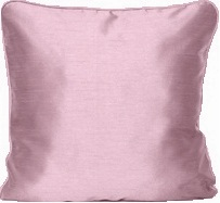 Kuddfodral linnebeige beige dimros rosa ljusgrå konst silke shabby chic lantlig stil