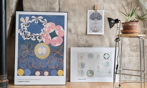 Hilma af Klint Nya och gamla favoriter från den älskade konstnären!