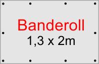 Banner 1,3 x 2 m