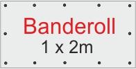Banderoll 1 x 2 meter