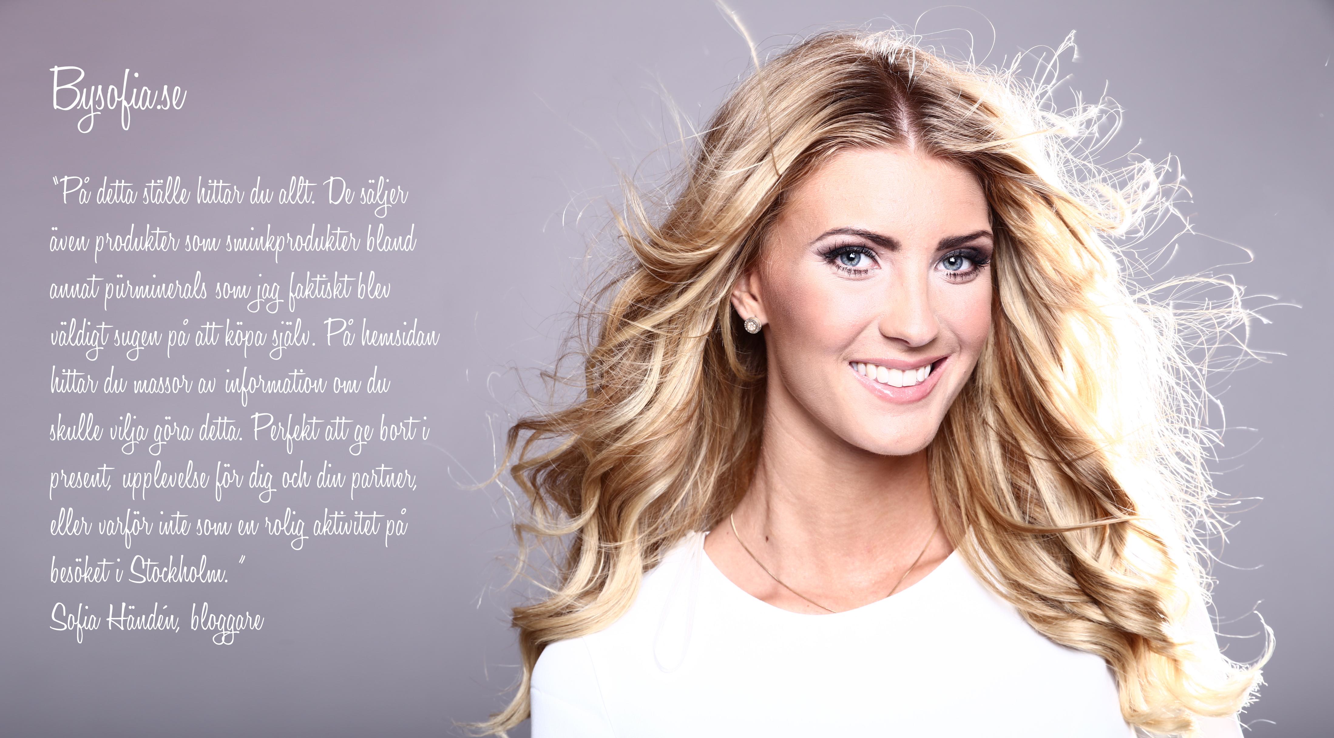 Sofia Händen -Bloggare