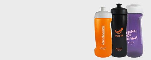 Törstig? Håll jämn vätskebalans med en snygg flaska med tryck.