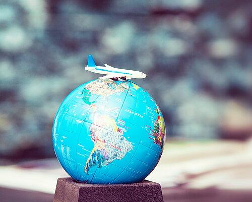 Op reis met vliegkousen!