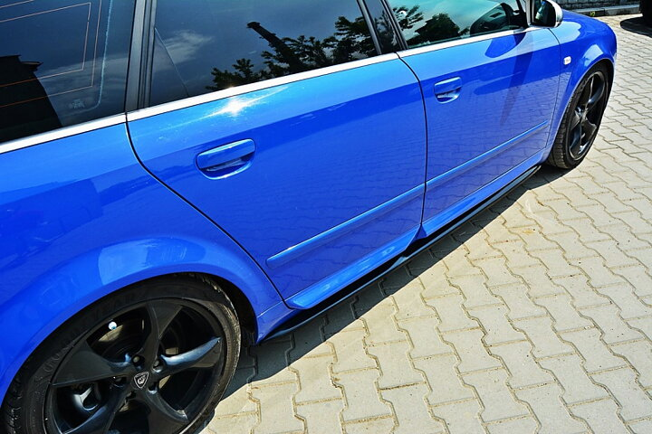SIDE SKIRTS DIFFUSERS AUDI S4 B6