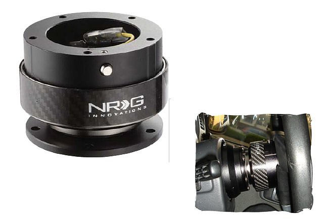 UNIVERSAL NRG QUICK RELEASE HUB G2 REAL CARBON