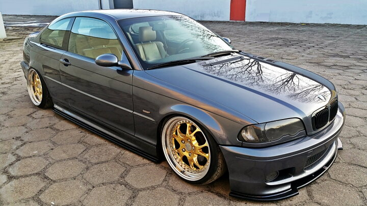Side Skirts Diffusers Bmw 3 E46 Mpack Coupe