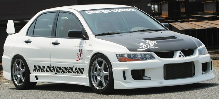 MITSUBISHI EVO 8/9 CHARGESPEED FRONT BUMPER TYPE-1