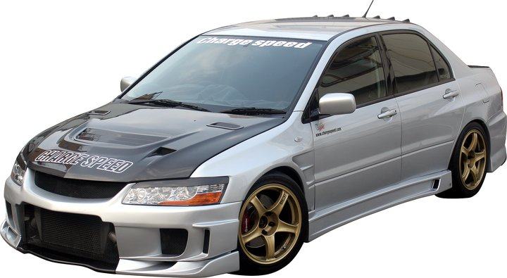 MITSUBISHI EVO 8/9 CHARGESPEED FRONT BUMPER TYPE-2