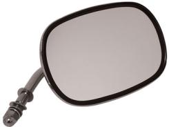 Backspegel, Short Stem,Chr Stål