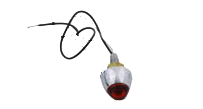 Deco Mini Lites, 12V Röd