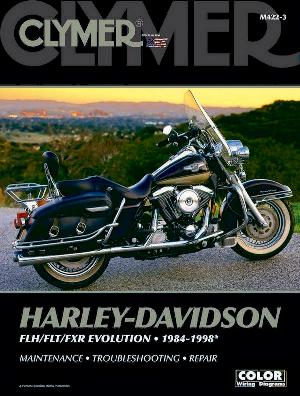 Clymer Repair Manual Flt/Fxr Big Twin 1984-98
