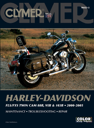 Clymer Repair Manual Fxst 2000-05