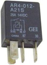Micro Relay W/Diode 2001-07 Tc88