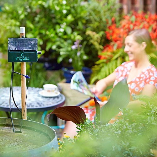 Irrigatia - solcellstyrd smart bevattning