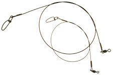 BFT Nylon Coated Wire Leader 2-pack