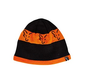 Fox Beanie Black/Orange