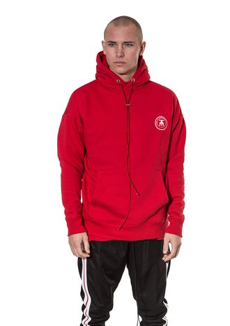 Statement Hoodie Red