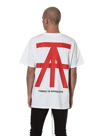 TTA AW18 Logo Tee White