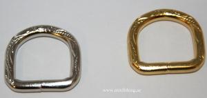 D-ring dekor 16 mm
