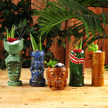 Tiki-Muggar Tropical Party-set