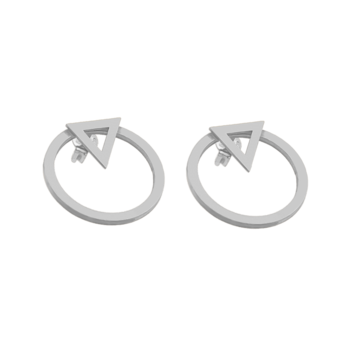 CU Jewellery Sign ear silver