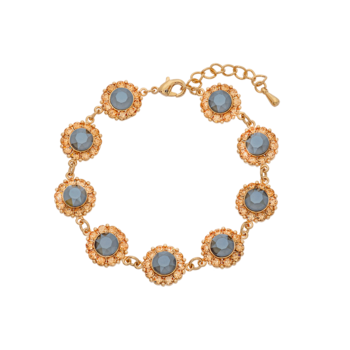 Lily and Rose Sofia bracelet - Grey lacquer