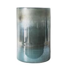 Stormglas/Vas Olsson & Jensen 30,5x20cm Turkosmönstrad