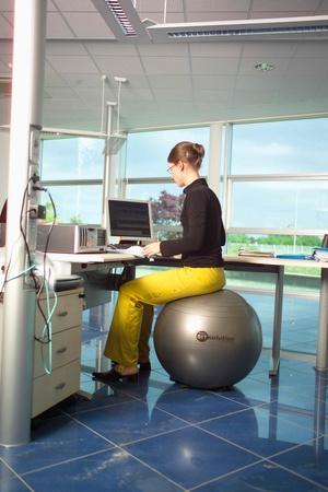 Fitness Sitt- & träningsboll Anti-burst