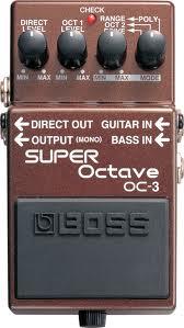 Boss OC3 Super Octave