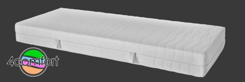 Nyhet! Madrass med 4 komforter Topp i memoryskum 20 cm hög