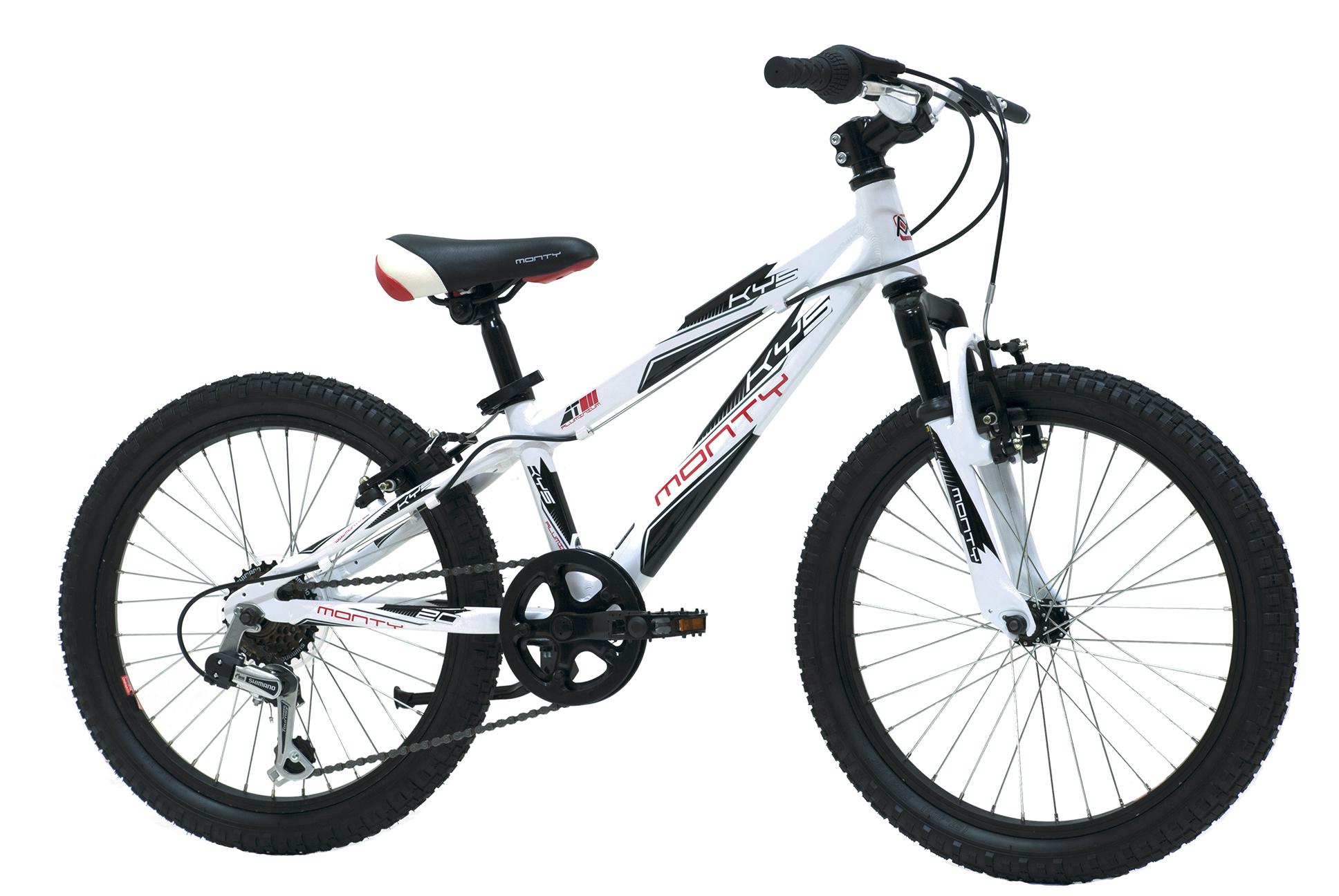 Smuk Barncykel KY5 - Från 5-7 år. 6 växlar och 20