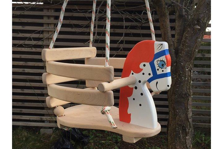 Helt nya Lille Katt - Babygunga i trä 'natur' GZ-52