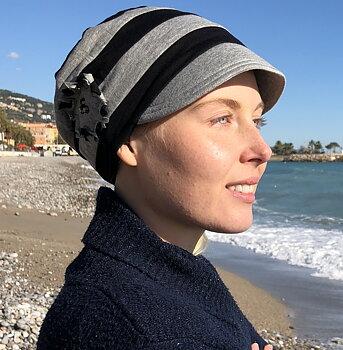 Emmy, turban med skärm