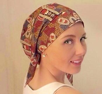 Alice bonnet, Huvudbonad vid håravfall