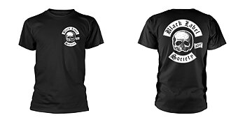 BLACK LABEL SOCIETY - T-SHIRT, SKULL LOGO POCKET BLACK