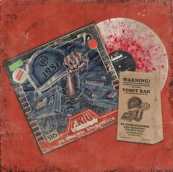 F.K.Ü - 1981 - LIMITED BLOOD SPLATTER VINYL WITH VOMIT BAG (LP)