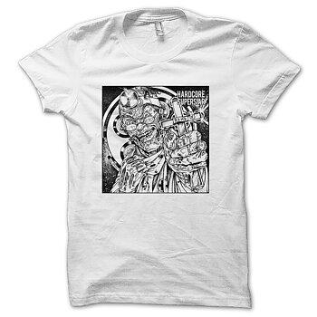 HARDCORE SUPERSTAR - T-SHIRT, AD/HD (WHITE)