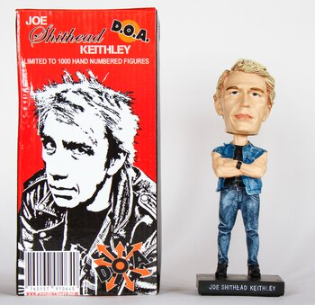 "THROBBLE HEADS - JOEY ""SHITHEAD"" KEITHLEY FROM D.O.A"
