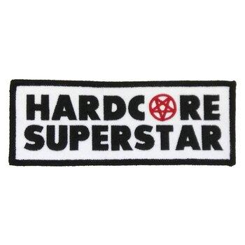 HARDCORE SUPERSTAR - PATCH, PENTAGRAM LOGO