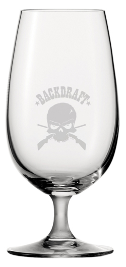 BACKDRAFT - BEER GLASSES
