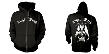 ANGEL WITCH - ZIP HOOD, BAPHOMET (BLACK)