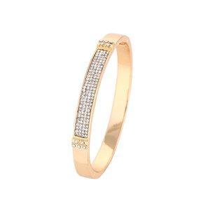 Bling armband i guld med stenar