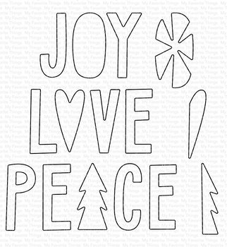 MY FAVORITE THINGS   -Joy, Love, and Peace Die-namics