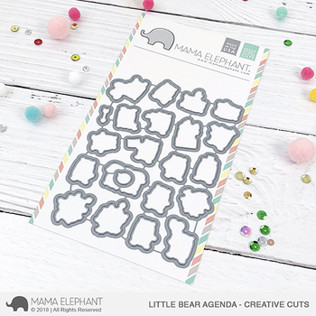 MAMA ELEPHANT -LITTLE BEAR AGENDA - CREATIVE CUTS