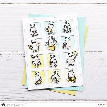 MAMA ELEPHANT -LITTLE BUNNY AGENDA - CREATIVE CUTS
