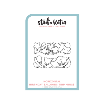 STUDIO KATIA-BIRTHDAY BALLOONS - HORZ.