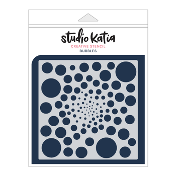 STUDIO KATIA-BUBBLES STENCIL