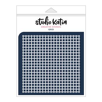 STUDIO KATIA-GRID STENCIL