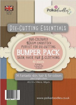POLKA DOODLES -Die-Cutting Essentials Bumper A5 Paper Pack
